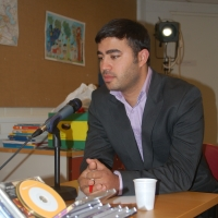 Ahmed Al Chibib avasi Norssin yrittäjyyskasvatusviikon