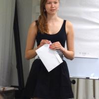 Jessica Rantanen (9E) sai Lions Club Turun tsemppistipendin