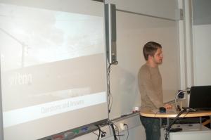 IB-alumni Jussi Lundstedt vieraili lukiossa