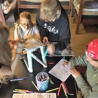 Norssin tukioppilaat koulutuksessa